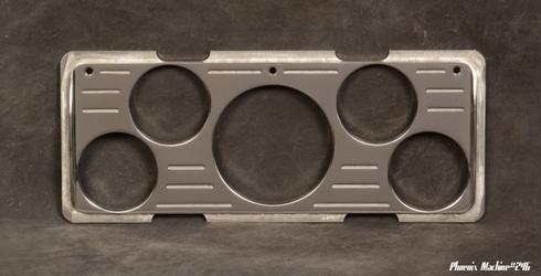 40 Ford Car 3 1/8 Five Gauge Insert Panel