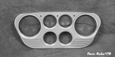 53/55 Ford Truck Six Gauge panel