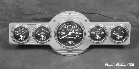 41/46 Pontiac Five Gauge Panel