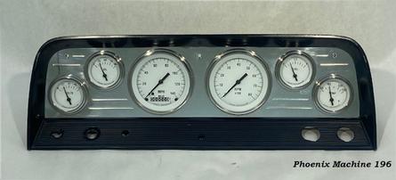 64/66 Chevrolet Truck Six Gauge Panel