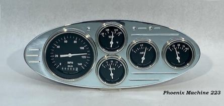 32 Ford Five Gauge Panel