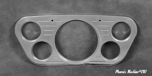 53/55 Ford Truck 5 Inch Five Gauge panel