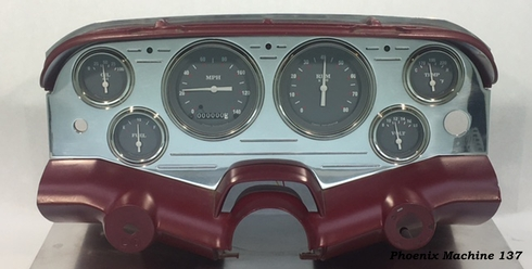 58 Chevrolet Impala  Belair  3 3/8 six gauge