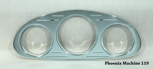 "34 Chevrolet Master 5"" and 3 3/8 Three Gauge Panel"